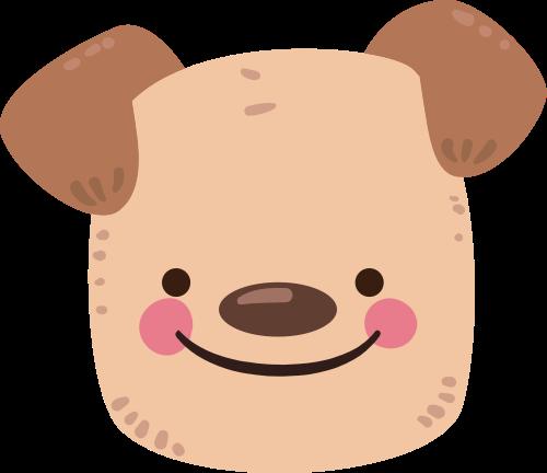 小狗矢量图标志素材矢量logo