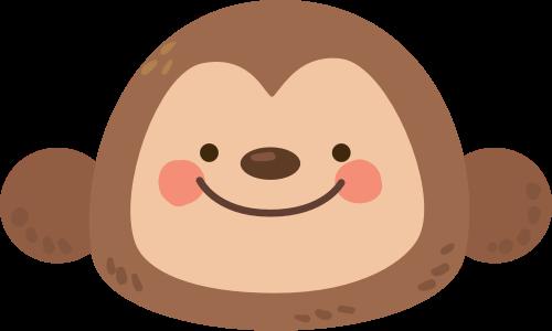 卡通猴子矢量图logo素材矢量logo