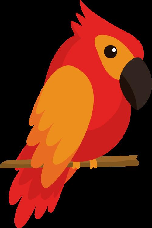 鹦鹉矢量图logo素材矢量logo