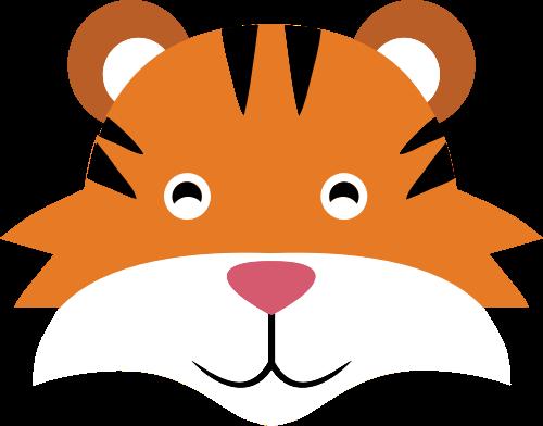 老虎矢量图logo素材矢量logo