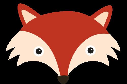 狐狸头矢量图商标素材矢量logo