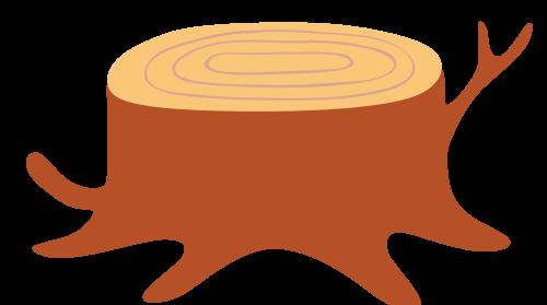 树桩矢量图商标素材矢量logo