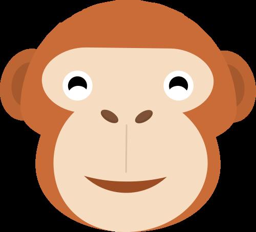 猴子矢量图商标素材矢量logo