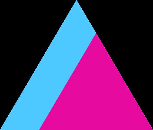 抽象山峰和大写字母A矢量logo图标矢量logo