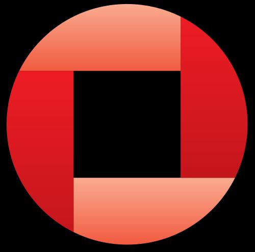 铜钱图案的logo元素图片矢量logo