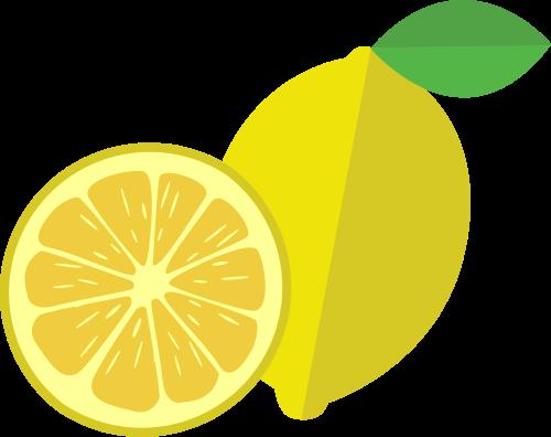 柠檬矢量图标志素材矢量logo