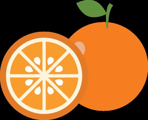 橙子矢量图商标素材矢量logo