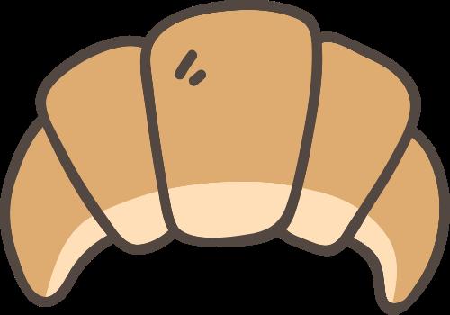 牛角面包矢量图标志素材矢量logo