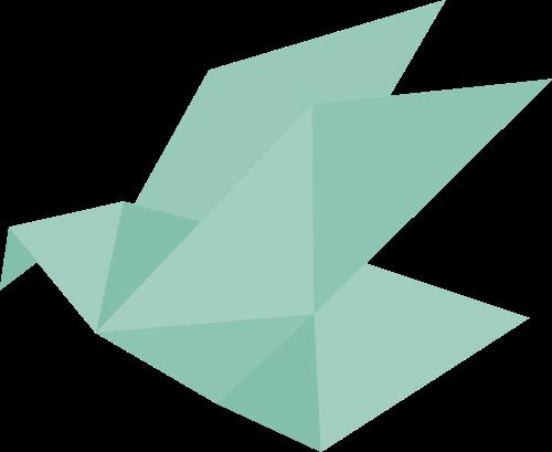 几何鸟矢量图logo素材矢量logo