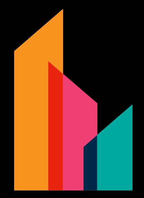 简约地产logo元素图标矢量logo