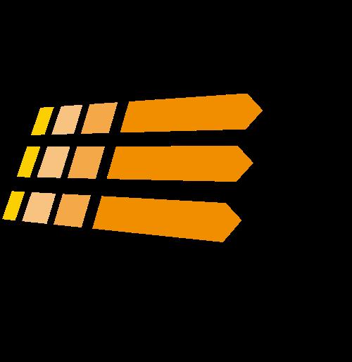 阳光抽象logo元素矢量logo