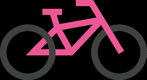 自行车矢量图商标素材矢量logo