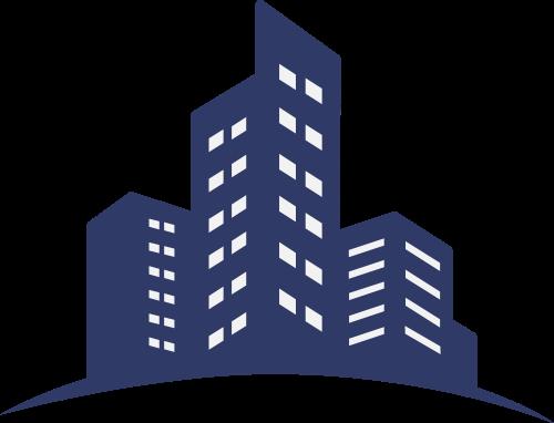 楼房建筑矢量图标志素材矢量logo