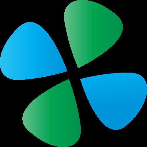 四叶草矢量图商标素材矢量logo