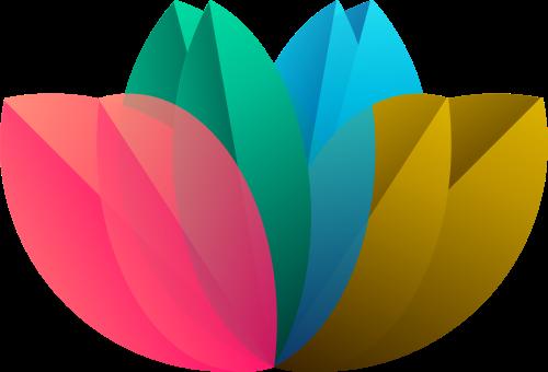 花朵矢量图商标素材矢量logo