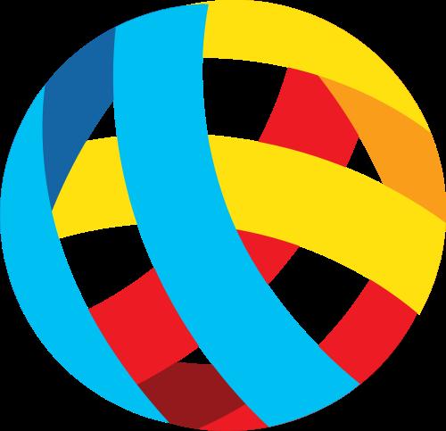 立体圆球矢量图商标素材矢量logo