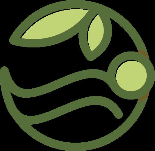 树叶圆形矢量图商标素材矢量logo