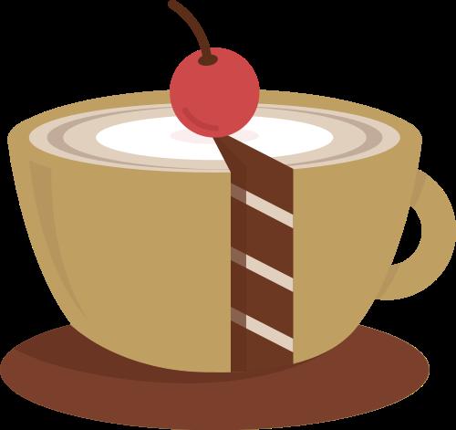 蛋糕咖啡杯矢量图标志素材矢量logo