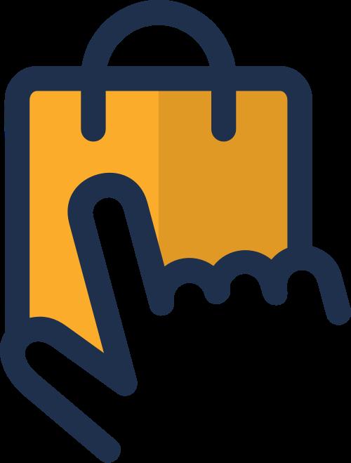 互联网购物矢量图标志素材矢量logo