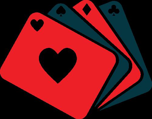 扑克牌矢量图logo素材矢量logo