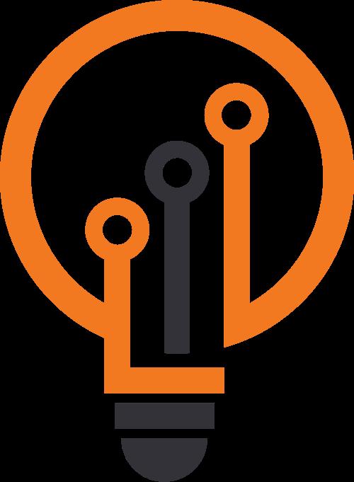 灯泡科技矢量图标志素材矢量logo