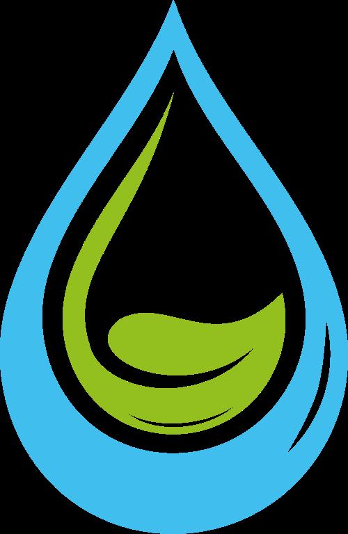 水滴环保矢量图标志素材矢量logo