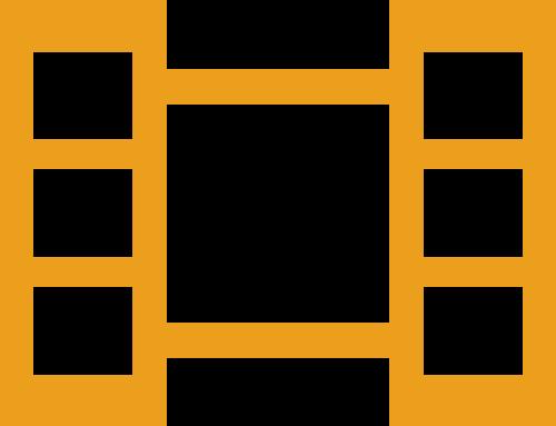 电影胶卷矢量图商标素材