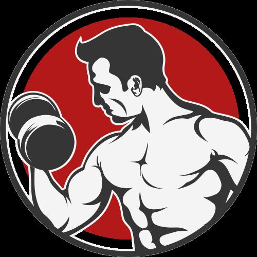 健身矢量图商标素材矢量logo