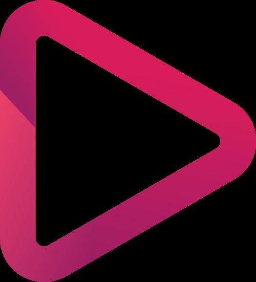 播放器三角形矢量图商标素材矢量logo