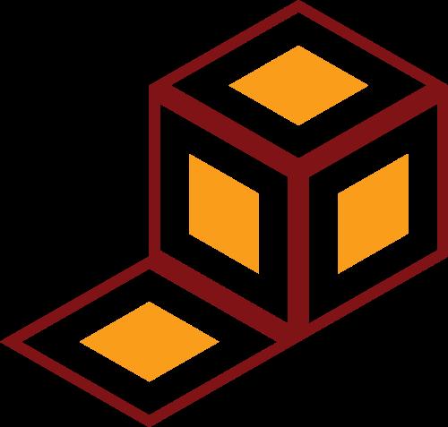 立方体盒子矢量图标志素材矢量logo
