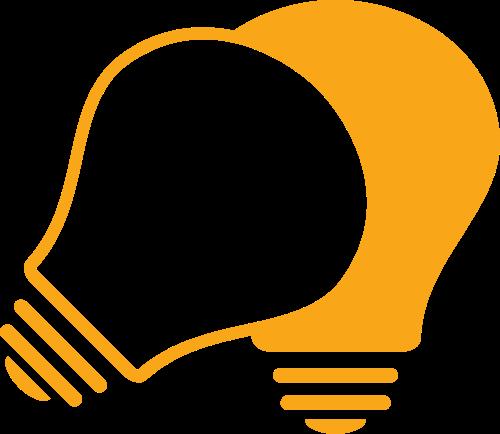 灯泡矢量图标志素材矢量logo