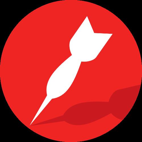 飞镖矢量图logo素材矢量logo
