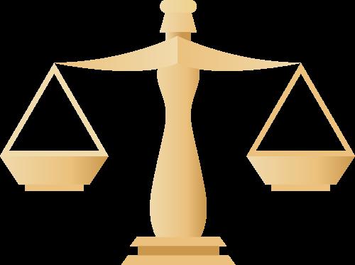 天秤矢量图标志素材矢量logo