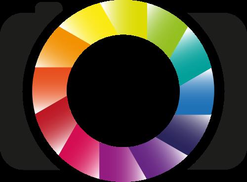 彩色相机摄影矢量图标志素材矢量logo