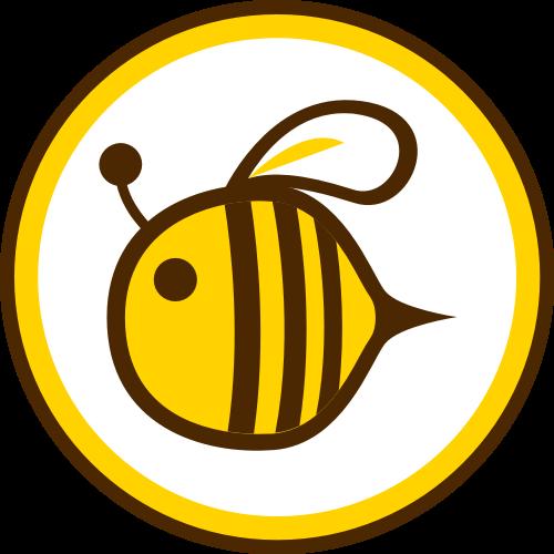 蜜蜂矢量图标志素材矢量logo