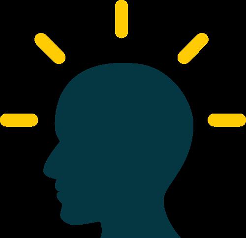 人物头像灯泡矢量图logo素材矢量logo