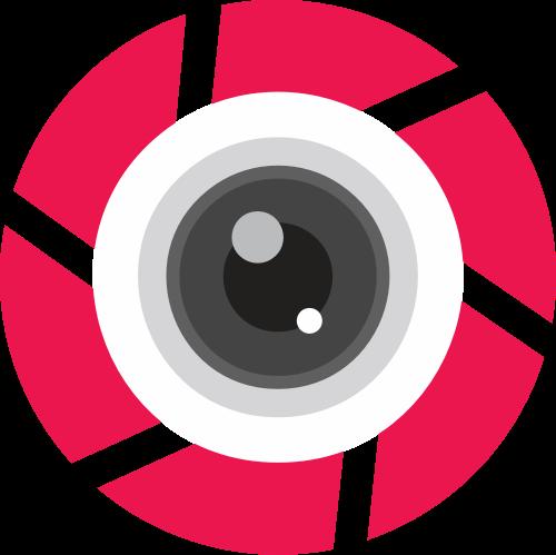 相机镜头矢量图标志素材矢量logo