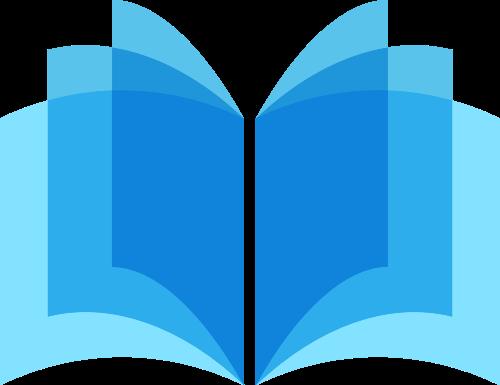 书本矢量图商标素材