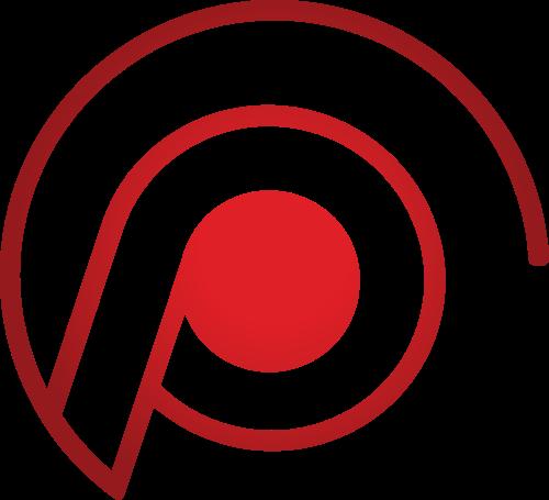 红色线条矢量图标志素材矢量logo