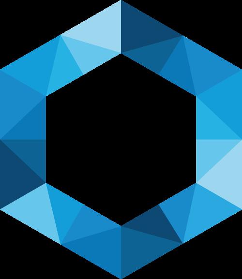 六边形矢量图商标素材矢量logo