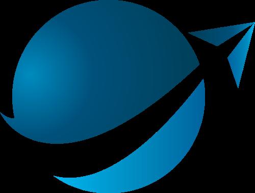 球形箭头矢量图logo素材矢量logo