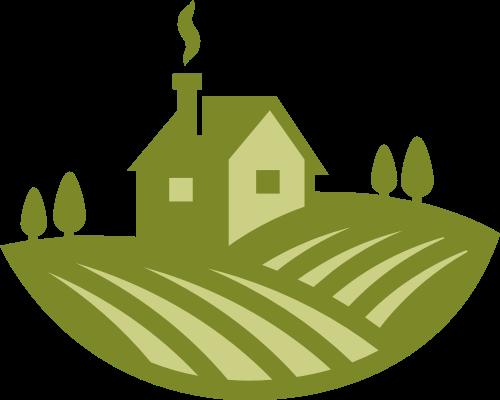 农场田野矢量图标志素材矢量logo