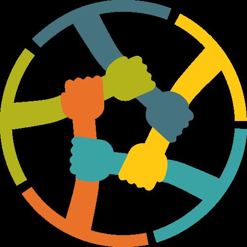 圆形握手矢量图商标素材矢量logo