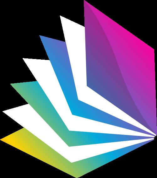 书本矢量图商标素材矢量logo