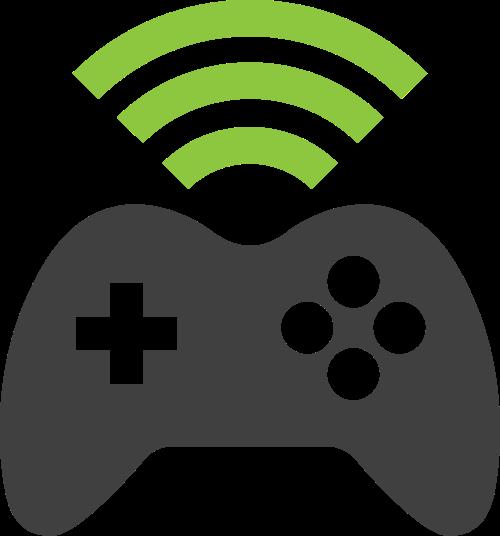 游戏机矢量图标志素材矢量logo