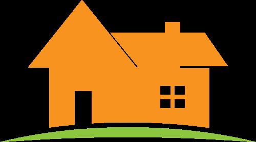 房屋矢量图标志素材矢量logo