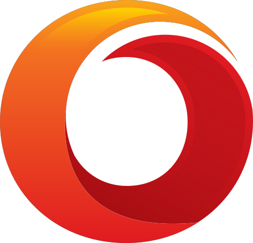 渐变色圆环矢量图标志素材矢量logo