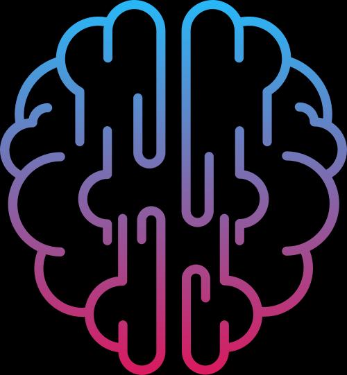 大脑矢量图标志素材矢量logo