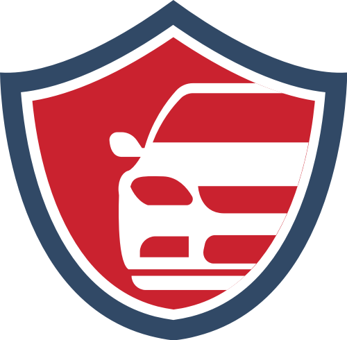 盾牌汽车矢量图标志素材