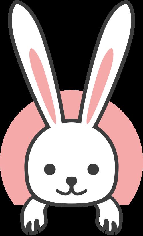 小兔子矢量图logo素材矢量logo